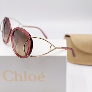 New Chloe 58mm Oval Sunglasses